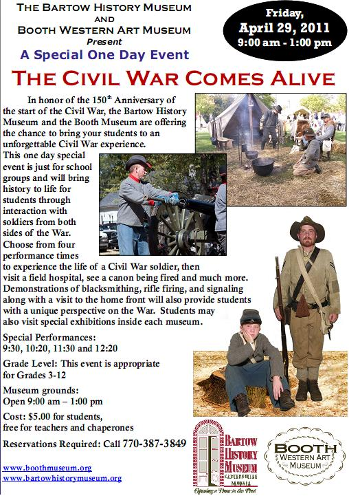 Booth Civil War for Educators